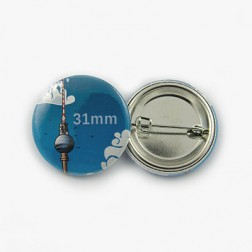 Ansteckbutton 31mm rund